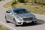 Mercedes-Benz Clase CLS CLS 63 AMG Shooting Brake CLS 63 AMG Shooting Brake Turismo familiar Plata Paladio Metalizado Exterior Lateral-Frontal 5 puertas