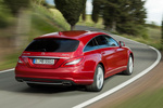 Mercedes-Benz Clase CLS CLS Shooting Brake 500 4MATIC BlueEFFICIENCY CLS Shooting Break Turismo familiar Rojo Tulita Metalizado Exterior Posterior-Lateral 5 puertas
