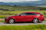 Mercedes-Benz Clase CLS CLS Shooting Brake 500 4MATIC BlueEFFICIENCY CLS Shooting Break Turismo familiar Rojo Tulita Metalizado Exterior Lateral 5 puertas