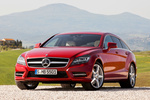 Mercedes-Benz Clase CLS CLS Shooting Brake 500 4MATIC BlueEFFICIENCY CLS Shooting Break Turismo familiar Rojo Tulita Metalizado Exterior Frontal-Lateral 5 puertas