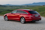 Mercedes-Benz Clase CLS CLS Shooting Brake 500 4MATIC BlueEFFICIENCY CLS Shooting Break Turismo familiar Rojo Tulita Metalizado Exterior Lateral-Posterior 5 puertas