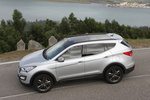 Hyundai Santa Fe Gama Santa Fe Gama Santa Fe Todo terreno Exterior Lateral-Cenital 5 puertas
