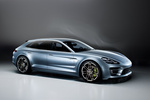 Porsche Panamera Sport Turismo prototipo Turismo familiar Exterior Lateral-Frontal 5 puertas
