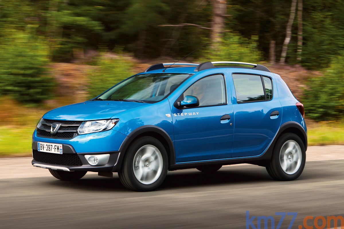 Dacia Sandero Gama Sandero Stepway Gama Sandero Stepway Turismo Exterior Frontal-Lateral 5 puertas