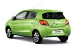 Mitsubishi Mirage Gama Mirage Gama Mirage Turismo Exterior Posterior-Lateral 5 puertas