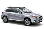 Mitsubishi ASX Gama ASX (2013) Gama ASX (2013) Todo terreno Plata Cool Exterior Lateral-Frontal 5 puertas