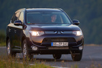 Mitsubishi Outlander 220 DI-D 150 CV 4WD Gama Outlander Todo terreno Azul Tanzanite Exterior Lateral-Frontal 5 puertas