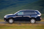 Mitsubishi Outlander 220 DI-D 150 CV 4WD Gama Outlander Todo terreno Azul Tanzanite Exterior Lateral 5 puertas