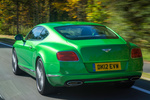 Bentley Continental GT Speed 625 CV Speed 625 CV Coup&eacute; Apple Green Exterior Lateral-Posterior 2 puertas