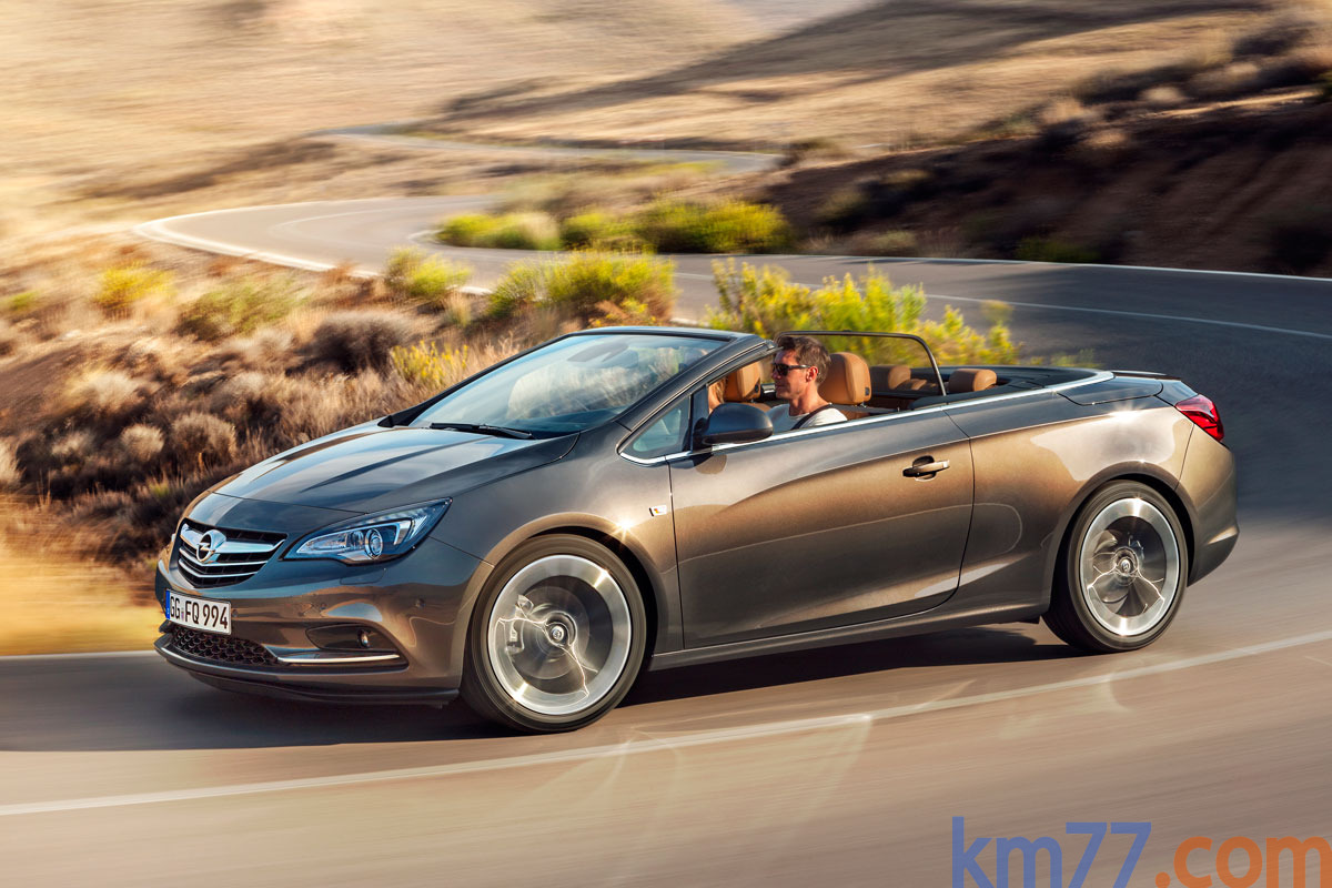 Opel Cabrio Gama Cabrio Gama Cabrio Descapotable Caoba Exterior Frontal-Lateral 2 puertas