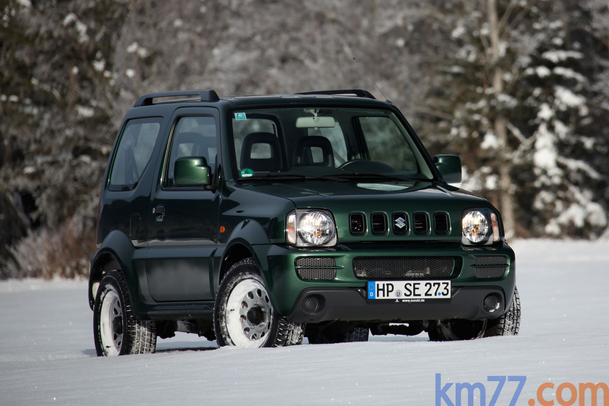Suzuki Jimny 1.3L 85 CV (2013) Gama Jimny (2013) Todo terreno Exterior Lateral-Frontal 3 puertas