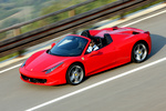 Ferrari 458 458 Spider Gama 458 Spider Descapotable Rojo Scuderia Exterior Frontal-Lateral-Cenital 2 puertas