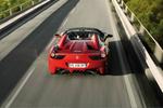 Ferrari 458 458 Spider Gama 458 Spider Descapotable Rojo Scuderia Exterior Posterior-Cenital 2 puertas