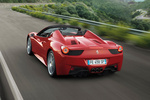 Ferrari 458 458 Spider Gama 458 Spider Descapotable Rojo Scuderia Exterior Posterior-Lateral 2 puertas