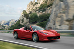 Ferrari 458 458 Spider Gama 458 Spider Descapotable Rojo Scuderia Exterior Lateral-Frontal 2 puertas
