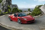 Ferrari 458 458 Spider Gama 458 Spider Descapotable Rojo Scuderia Exterior Frontal-Lateral 2 puertas
