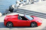 Ferrari 458 458 Spider Gama 458 Spider Descapotable Rojo Scuderia Exterior Cenital-Lateral 2 puertas
