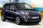 Citro&euml;n C3 Picasso Gama C3 Picasso Gama C3 Picasso Monovolumen Azul Encre Exterior Lateral-Frontal 5 puertas