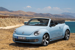 Volkswagen Beetle Gama Beetle 60s Edition Descapotable Azul Denim Exterior Frontal-Lateral 2 puertas