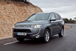 Mitsubishi Outlander 220 DI-D 150 CV 4WD Motion Todo terreno Gris Titanium Exterior Frontal-Lateral 5 puertas