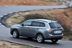 Mitsubishi Outlander 220 DI-D 150 CV 4WD Motion Todo terreno Gris Titanium Exterior Posterior-Lateral 5 puertas