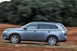 Mitsubishi Outlander 220 DI-D 150 CV 4WD Motion Todo terreno Gris Titanium Exterior Lateral 5 puertas