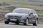 Mercedes-Benz Clase CLS CLS Shooting Brake 350 CDI BlueEFFICIENCY 265 CV CLS Shooting Break Turismo familiar Gris Tenorita Metalizado Exterior Frontal-Lateral 5 puertas