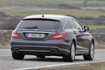 Mercedes-Benz Clase CLS CLS Shooting Brake 350 CDI BlueEFFICIENCY 265 CV CLS Shooting Break Turismo familiar Gris Tenorita Metalizado Exterior Posterior-Lateral 5 puertas
