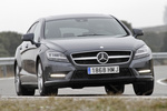 Mercedes-Benz Clase CLS CLS Shooting Brake 350 CDI BlueEFFICIENCY 265 CV CLS Shooting Break Turismo familiar Gris Tenorita Metalizado Exterior Frontal 5 puertas