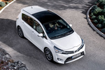 Toyota Verso Gama Verso Gama Verso Monovolumen Pearl White Exterior Cenital 5 puertas