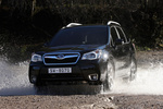 Subaru Forester 2.0 XT 240 CV Executive Plus Todo terreno Crystal Black Silica  Exterior Frontal-Lateral 5 puertas
