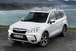 Subaru Forester 2.0 XT 240 CV Executive Plus Todo terreno Satin White Pearl Exterior Frontal-Lateral 5 puertas