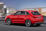 Audi Q3 RS RS Todo terreno Rojo Misano Efecto Perla Exterior Lateral-Posterior 5 puertas