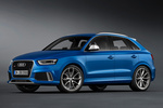 Audi Q3 RS RS Todo terreno Azul Sepang efecto perla Exterior Frontal-Lateral 5 puertas