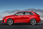 Audi Q3 RS RS Todo terreno Rojo Misano Efecto Perla Exterior Lateral 5 puertas