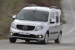 Mercedes-Benz Citan 109 CDI Combi 90 CV BlueEFFICIENCY. Gama Citan Veh&iacute;culo comercial Plata Brillante Metalizado Exterior Frontal-Lateral 5 puertas