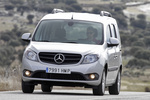 Mercedes-Benz Citan 109 CDI Combi 90 CV BlueEFFICIENCY. Gama Citan Veh&iacute;culo comercial Plata Brillante Metalizado Exterior Frontal 5 puertas