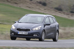 KIA cee&#039;d 1.6 CRDi VGT 110 CV Concept Turismo familiar Dark gun metal Exterior Frontal-Lateral 5 puertas