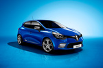 Renault Clio GT 120 EDC (120 CV) GT Turismo Azul Malta Exterior Frontal-Lateral 5 puertas