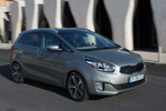 KIA Carens 1.7 CRDi 136 CV Gama Carens Monovolumen Brilliantsilber Metallic Exterior Lateral-Frontal 5 puertas