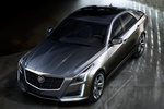 Cadillac CTS Gama CTS Gama CTS Turismo Exterior Lateral-Frontal-Cenital 5 puertas