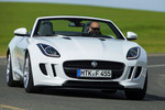 Jaguar F-Type V6 3.0 340 CV V6 Descapotable Polaris White Exterior Frontal 2 puertas