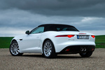 Jaguar F-Type V6 3.0 340 CV V6 Descapotable Polaris White Exterior Lateral-Posterior 2 puertas