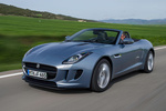 Jaguar F-Type V6 3.0 340 CV V6 Descapotable Satellite Grey Exterior Frontal-Lateral 2 puertas