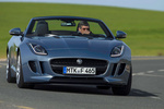 Jaguar F-Type V6 3.0 340 CV V6 Descapotable Satellite Grey Exterior Frontal 2 puertas