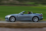 Jaguar F-Type V6 3.0 340 CV V6 Descapotable Satellite Grey Exterior Lateral 2 puertas