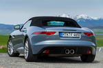 Jaguar F-Type V6 3.0 340 CV V6 Descapotable Satellite Grey Exterior Lateral-Posterior 2 puertas