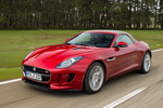 Jaguar F-Type S V6 3.0 381 CV S V6 Descapotable Italian Racing Red Exterior Frontal-Lateral 2 puertas