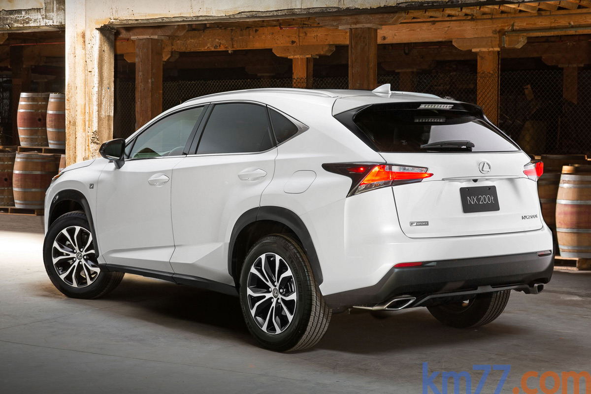 lexus nx chief on re engineering the rav4 for luxury. Black Bedroom Furniture Sets. Home Design Ideas