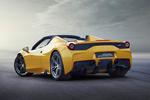 Ferrari 458 Gama 458 Speciale A Gama 458 Speciale A Descapotable Amarillo librea Exterior Lateral-Posterior 2 puertas